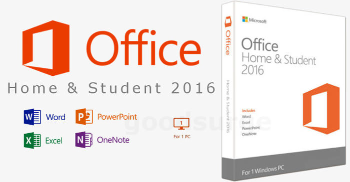microsoft office home and student 2016 word excel powerpoint license key eu ebay. Black Bedroom Furniture Sets. Home Design Ideas